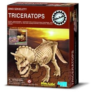 Triceratops Wykopaliska - Model Dinozaura  do Złożenia 4M