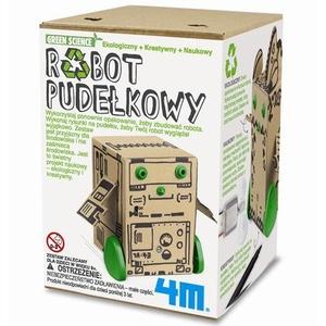 Robot Pudełkowy Zabawka Ekologiczna - 4M