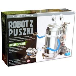 Robot z Puszki Mechanika i Zabawa - 4M