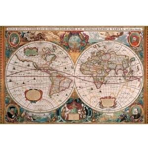 Antyczna Mapa Świata 5000 Elementów - Ravensburger
