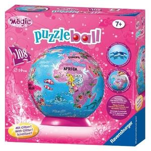 Puzzle 3D Kuliste Globus Wróżki Disney - Ravensburger