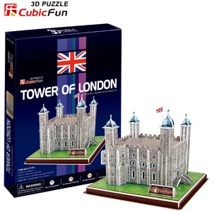 Puzzle 3D Tower Of London - Cubic Fun