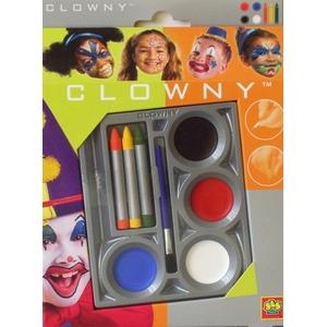 Farbki Clowny Zestaw Pajac - Ses