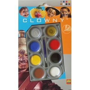 Farbki Clowny Basic 8 Kol. - Ses