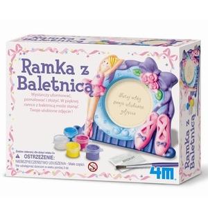 Kreatywna Zabawa Ramka Z Baletnicą - 4M