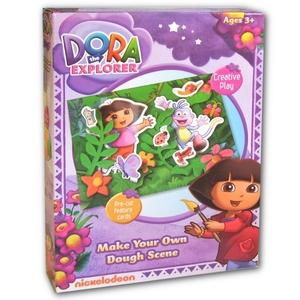 Dora Zestaw Z Ciastoliną - Grafix