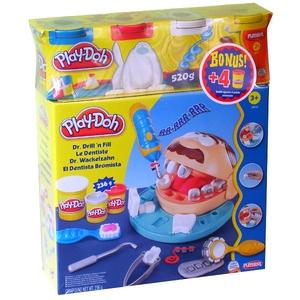 Playdoh Dentysta 4 Tuby - Hasbro