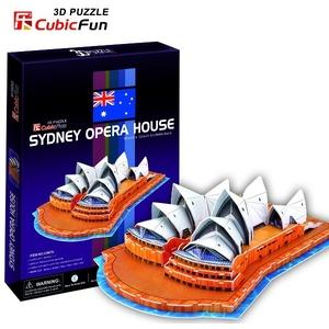 Puzzle 3D Opera w Sydney - Cubic Fun
