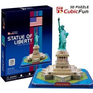 Puzzle 3D Statua Wolności - Cubic Fun