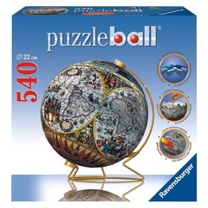 Puzzle 3D Kuliste Globus Historyczny 540el.- Ravensburger