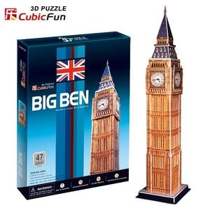 Puzzle 3D Big Ben - Cubic Fun