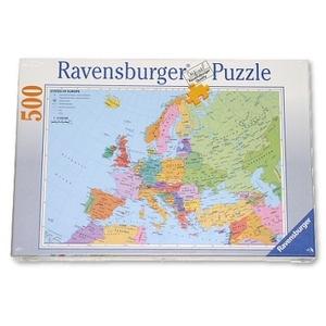 Mapa Polityczna Europy - Ravensburger