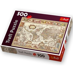 Mapa Puzzle 500 Elementów - Trefl