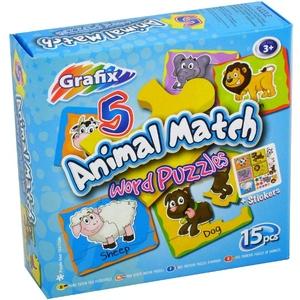 Puzzle Poznajemy Zwierzęta - Grafix