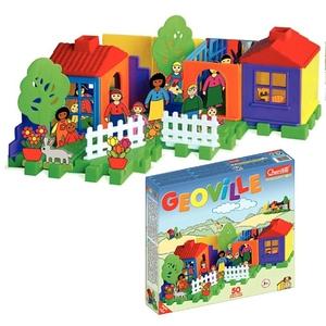 Geoville Budowa Domu 50 Elementów - Quercetti
