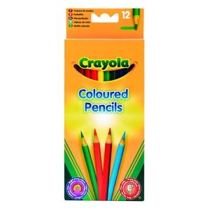 Kredki Ołówkowe Trójkątne 12 Sztuk - Crayola