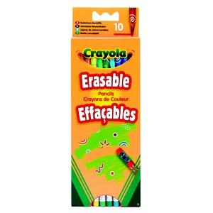 Kredki Ołówkowe Ścieralne 10 Sztuk - Crayola