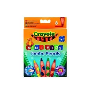 Kredki Ołówkowe Jumbo 8 Sztuk - Crayola