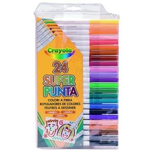 Zestaw 24 Flamastrów - Crayola