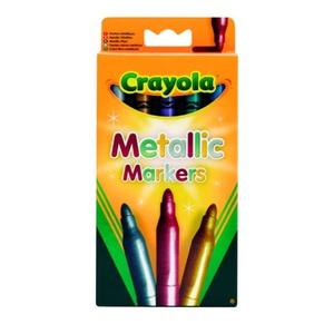 Zestaw Flamastrów Metalicznych 5 Kolorów - Crayola