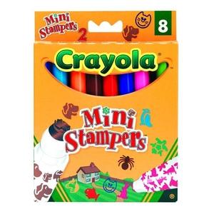 Flamastry Mini Stempelki 8 Sztuk - Crayola