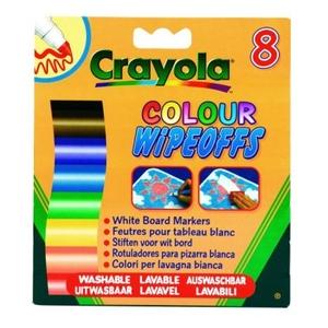Markery Do Białej Tablicy 8 Sztuk - Crayola