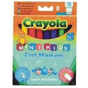 Flamastry Zmywalne Mini Kids 8 Sztuk - Crayola