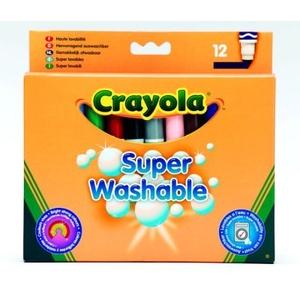 Zmywalne Flamastry Spiralne 12 Sztuk - Crayola