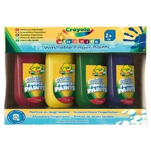 Farby Do Malowania Palcami 4 Kolory - Crayola