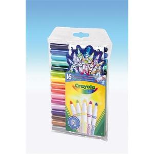 Zestaw Flamastrów 16 Mini Supertips - Crayola