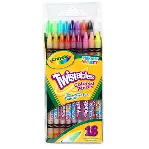 Kredki Ołówkowe Twistable 18 Sztuk - Crayola