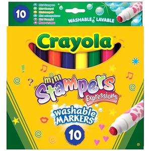 Flamastry Mini Stempelki 10 Kolorów - Crayola