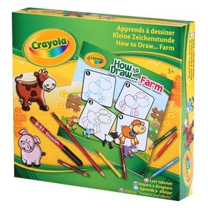 Zestaw Do Nauki Rysowania - Crayola