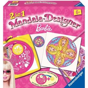 Mandala Zestaw Do Rysowania Barbie 2 W 1 - Ravensburger