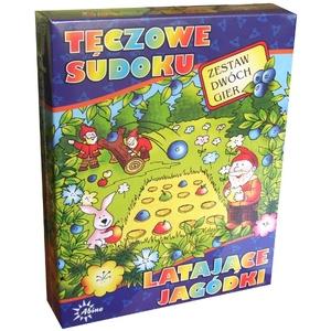 Gra Tęczowe Sudoku, Latające Jagody - Abino