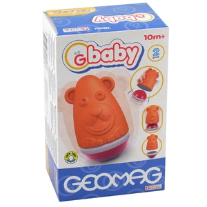 GBaby Roly Poly Miś - Geomag