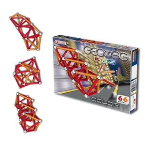 Geomag Kids Color 66 Elementów - Geomag