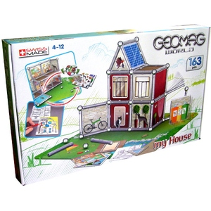 Geomag World My House 163 Elementy - Geomag