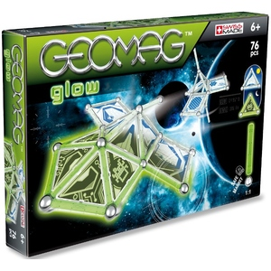 Geomag Kids Panels Glow 76 Elementów - Geomag