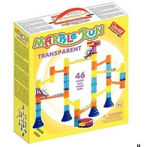 Marble Run Transparent 46 Części - Quercetti