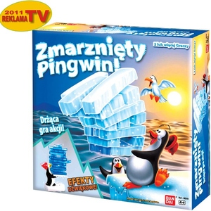 Gra Zmarznięty Pingwin - Bandai