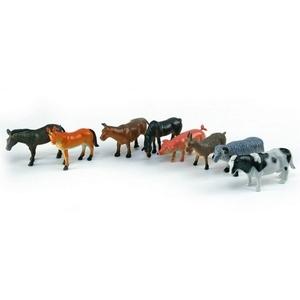 Mega Creative I Zwierzęta Domowe Plastikowe 8 Szt. - Euro Trade