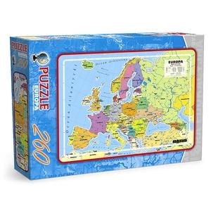 Europa Mapa Administracyjna 260 Elementów - Maxim