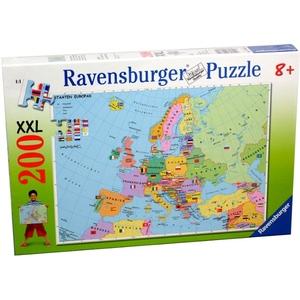 Polityczna Mapa Europy 200 Elementów - Ravensburger