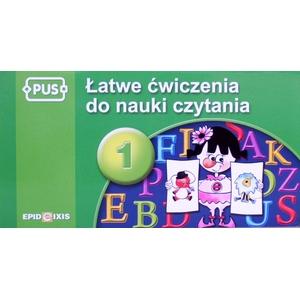 PUS Łatwe Ćwiczenia Do Nauki Czytania 1 - Epideixis
