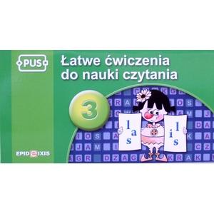PUS Łatwe Ćwiczenia Do Nauki Czytania 3 - Epideixis