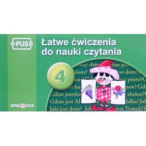 Łatwe Ćwiczenia Do Nauki Czytania Cz. 4 - Epideixis