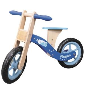 Drewniany Rowerek Biegowy Niebieski - Brimarex