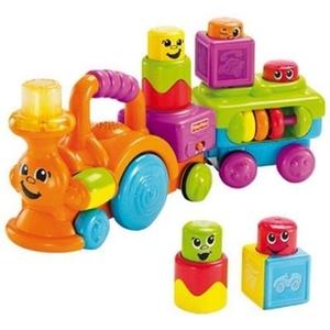 Pociąg Wesołych Klocków - Fisher Price