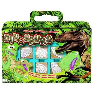 Pieczątki Dinozaury Walizka - Multiprint